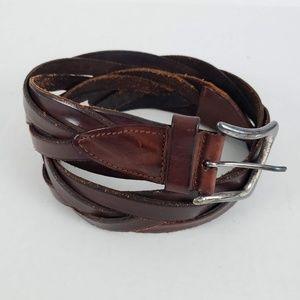 Banana Republic Belt Vintage Braided Brown